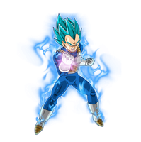 Vegeta SSJ Blue #5 + KI by SaoDVD