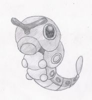 10. Caterpie by melia161