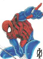 Spider-man Ben Reilly by ChrisOzFulton