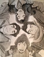 The legend of Korra by lea33