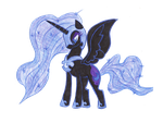 Nightmare Moon by soundwave023