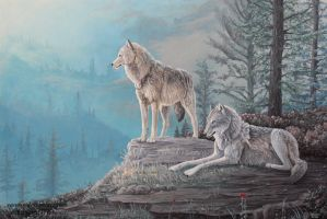 The Lookout - Wolves by Vanory