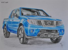 Nissan Frontier by WouldStalkHorses
