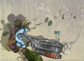 Grenadier Girl by PhillyBoyWonder