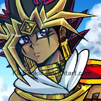 S_Another Assassin Atem drawing. by KiaCookie