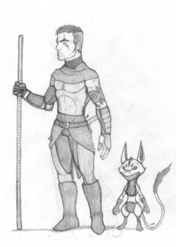 Terran and Jib by Clawmarked