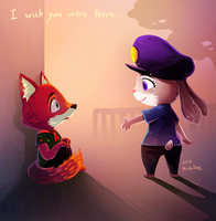 Zootopia (***little bit spoiler alert) by Mushstone
