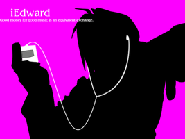 iPod 04 - Edward Elric by BlueMoonCrescent