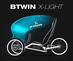 Btwin X-Light 01 by Vincent-Montreuil