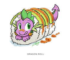Dragon Roll by zhivagooo