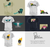 saltshakr911 T-shirt set by saltshaker911