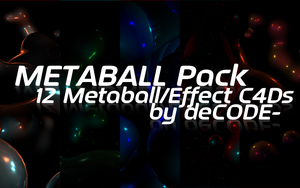 Metaball Pack by NBrooksDesign