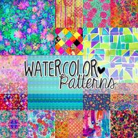 Watercolor Pattern by PrettyLadySwag