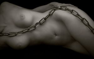 Woman in Chains by ImpressionofLight