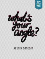 What's Your Angle by eugeniaclara