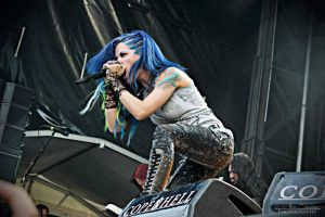 Arch Enemy @ Copenhell 2014 by annesneisen
