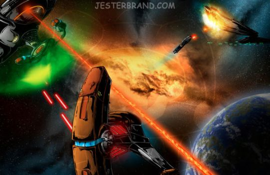 The Battle by Jesterbrand