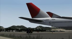 JAL tail by Boeing787