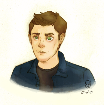 Ah, my Winchester - Dean by RaiseYourChickenWing
