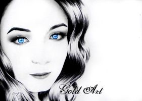 Behind Blue Eyes by ArtGoldArt