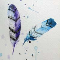 feathers by excentric