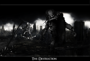 Photomanip The Destruction by ROH2X