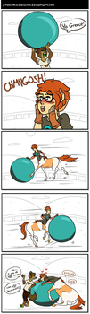 How to bribe a centaur by GreecemisisBiscuit