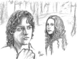 Frodo and Karolyn by rstrider9