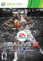 NBA Live 13: Demarcus Cousins cover by chronoxiong