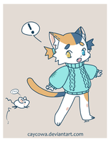 Tama the Cat by caycowa