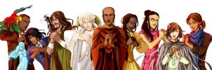 The Cosmere Cast (Ver. 1.0) by BotanicaXu