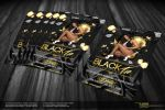 Black Tie Party Flyer - Front by Gallistero