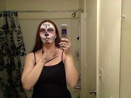 Day of the Dead Halloween Mask 2 by katamariarcher