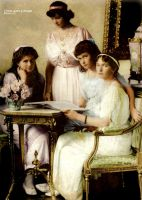 Daughters of the Tsar by GrandDuchessIsabelle