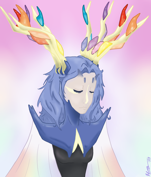 Human Xerneas .:Redo:. by IcyBloodRaven