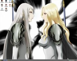 Claymore - Galatea and Teresa by Imarel