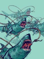 Sharks by Morfyia