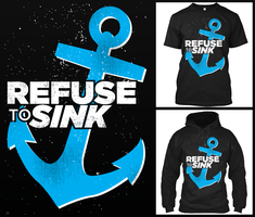 Refuse to Sink by MacphersonDesigns