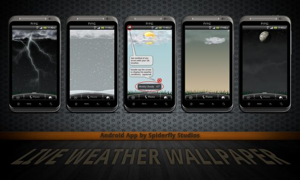 Live Weather Wallpaper by kahil