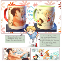 Japan Expo 2014 : Mugs by CloverDoe