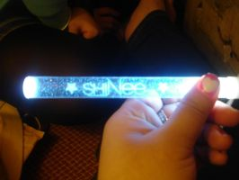 SHINee's lightstick by Tomato3