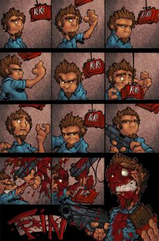 synday comic strip colored by shalomone