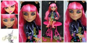 MH Howleen repaint #3 ~Colette~ by RogueLively
