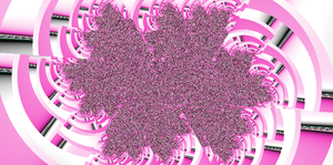 Fractal in pink by catmac