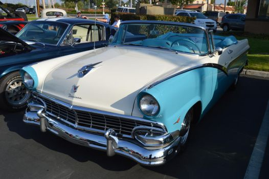 1956 Ford Fairlane Sunliner Convertible VII by Brooklyn47