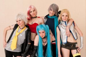H-type vocaloids II by scentless-flower