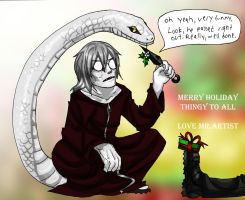 Kabuto: T'is the Season by Yakushi--Kabuto