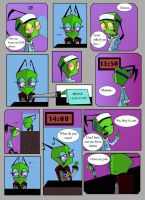 Teer's daily routine by invader-mandy