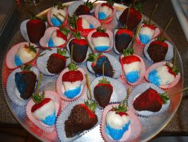 Patriotic Strawberries by DMD-CT