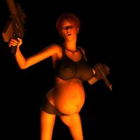 gunned up girl 6 by zededd